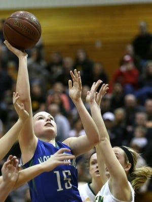 Green Bay Notre Dame sophomore Kaycee Gierczak scored 20 points in a WIAA Division 2 sectional final victory over Beaver Dam on Saturday.