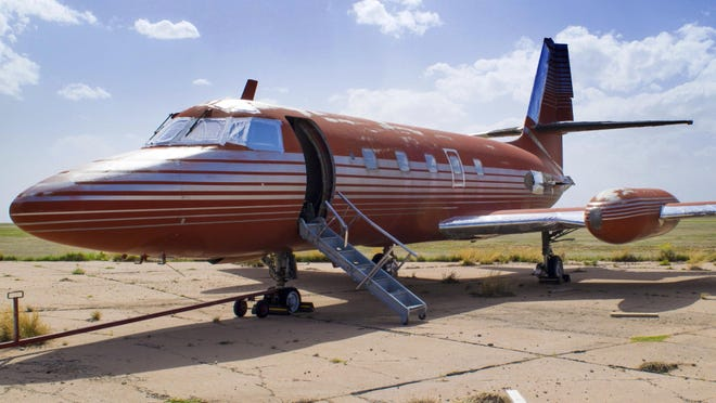 This private jet, once owned by Elvis Presley, is set to be auctioned after sitting on a runway in New Mexico for 30 years. GWS Auctions Inc. out of California is holding the auction for the plane on May 27, 2017 at an event featuring A-list celebrity memorabilia.