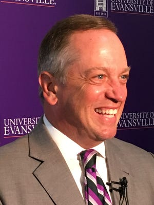 University of Evansville President-elect Christopher Pietruszkiewicz's first goal when he arrives July 1 is to listen.