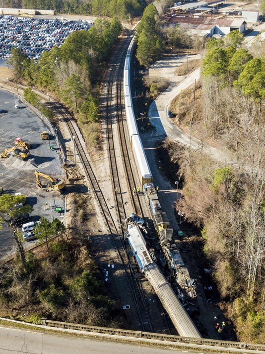 Train Crash-South Carolina