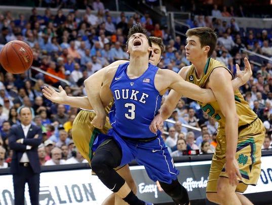 USP NCAA BASKETBALL: ACC CONFERENCE TOURNAMENT-DUK S BKC USA DC