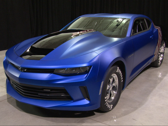 This 2017 Chevrolet Camaro Copo was auctioned for charity