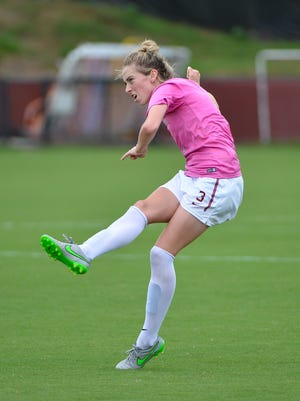 Megan Connolly has registered four goals and eight assists in 2015, leading FSU with 16 total points.