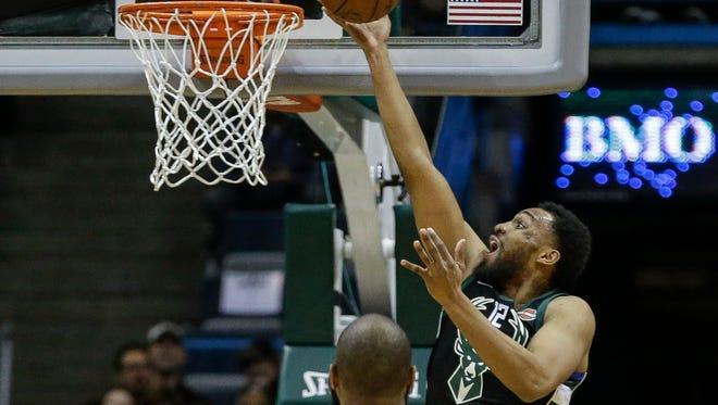 Bucks forward Jabari Parker made his season debut Friday vs. the Knicks.