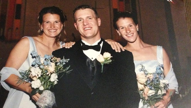 From left to right: Angie Mouch Edmonds, Andy Mouch and Abby Mouch Federmann