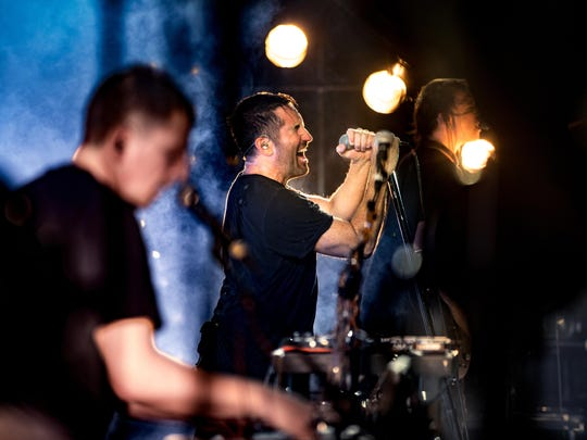 Nine Inch Nails perform two shows at the Fox Theatre this week.