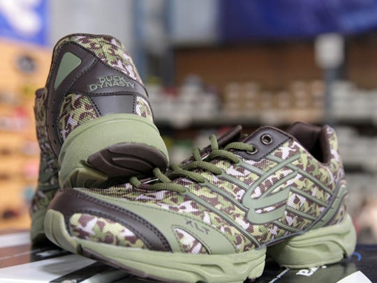 Spira Footwear produced a line of 'Duck Dynasty' running
