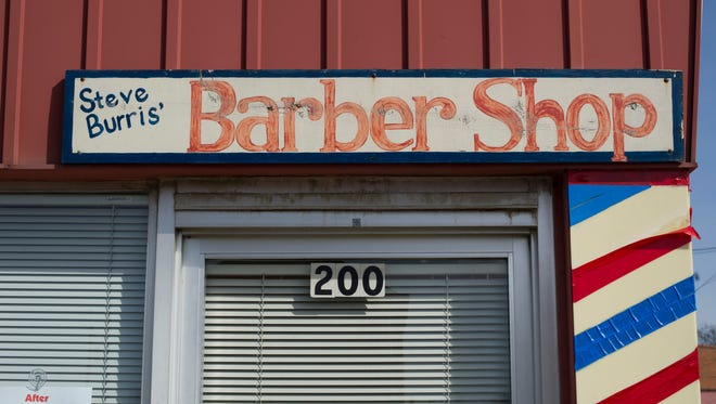 Steve Burris' Barber Shop at 200 Main Street in Mount Vernon, Ind., is closed after his retirement, but a couple of local businessmen are hoping to find a replacement for the hair-cutting icon.