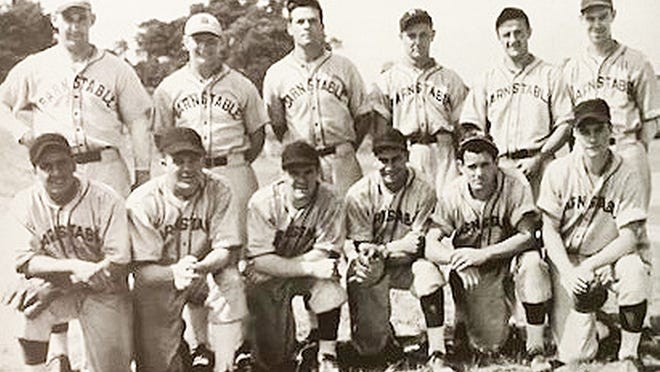 The 1937 Barnstable team, Cape League champions. [COURTESY PHOTO]
