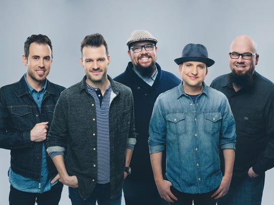 Big Daddy Weave consists of  Brian Beihl, Jeremy Redmon, Mike Weaver, Joe Shirk and Jay Weaver.