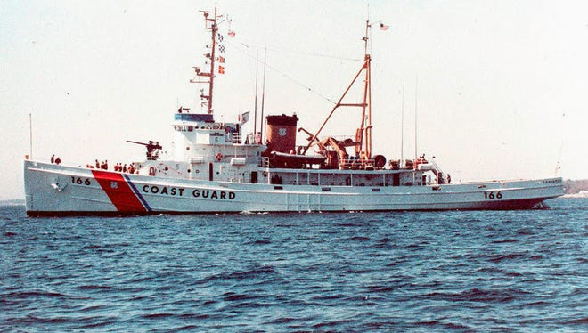 The Coast Guard's Tamaroa, known as the USS Zuni in World War II, will be sunk off Cape May, N.J., as part of an artificial reef.