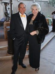 PSOG President Bruce Johansen and Gala Chair Jean Carrus