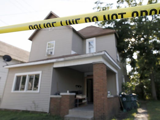 Police spent much of Wednesday afternoon and evening investigating this house at 311 S. Council St. but were tight lipped about the circumstances surrounding the investigation.