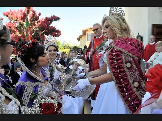 The Portuguese Festa took place in downtown Visalia on Sunday, June 29, 2014.