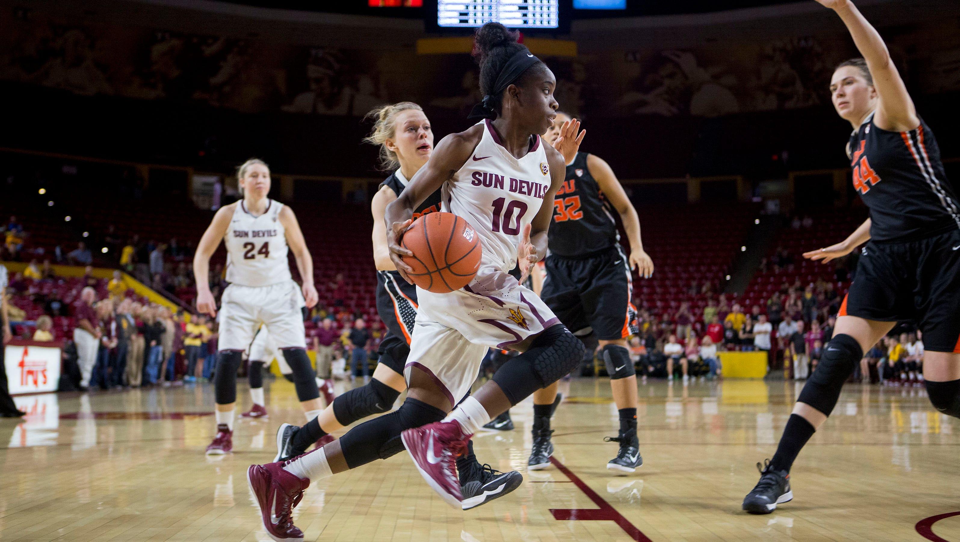 Two ASU women's basketball players earn Pac-12 awards