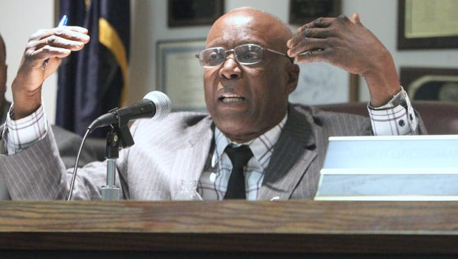 Spring Valley Mayor Demeza Delhomme photographed Jan. 14. Delhomme and a fraction of the Village Board were locked into a dispute over Spring Valley's insurance policy.