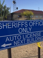 The Maricopa County Sheriff's Office substation at Dysart and Bell roads in Surprise.