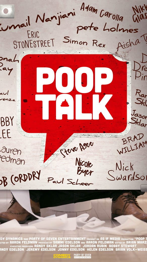 """Documentary """"Poop Talk"""" takes on the taboo topic of,"""