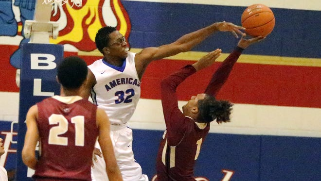 Americas hosted El Dorado in boys prep basketball action Friday night. Americas faces Eastwood on Tuesday.