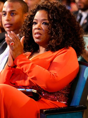 Oprah Winfrey attends the 46th NAACP Image Awards on Feb. 6, 2015.