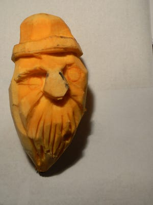 """Treasure Coast Woodcarvers will be offering free """"sweet potato"""" carving lessons to juniors of all ages both days of the 34th annual woodcarvers show from 10 a.m. until 4 p.m. Feb 10-11at Francis Langford Park in Jensen Beach in the Vince Bocchino Community Center."""
