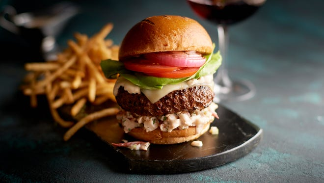 Surf and turf burger from Morton's.