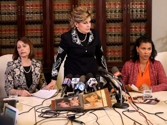 Gloria Allred and Cosby accusers