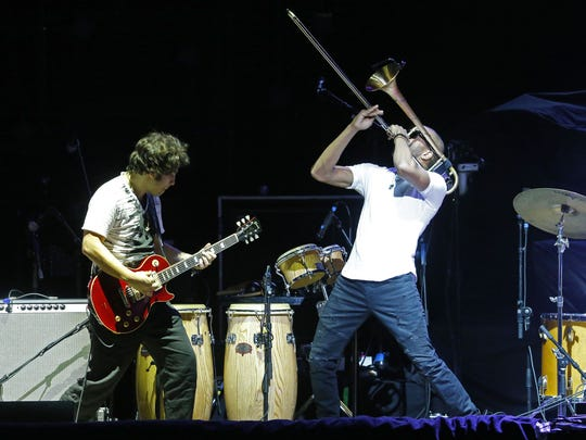 Trombone Shorty & Orleans Avenue open for Daryl Hall