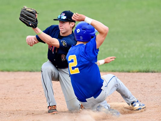 Stewartstown vs Pleasureville American Legion baseball