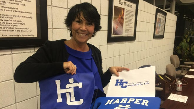 Vikki Bauer resigned from the Harper Creek Community Schools Board of Education in March.