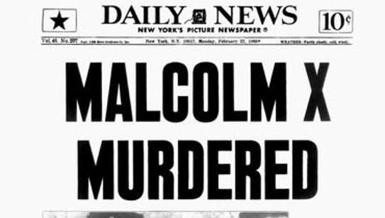 Front page of the New York Daily News after the Feb.