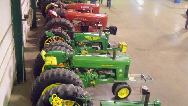 According to organizers 800 vendors from at least 20 states will be offering every possible need for home or farm, from tractors to livestock, feed and seed.