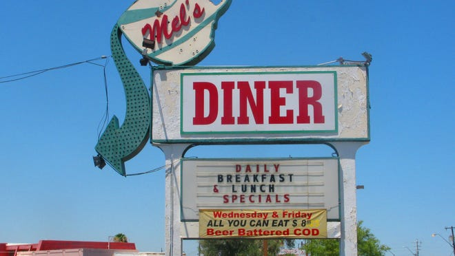 """Mel's Diner was the setting for the sitcom """"Alice"""""""
