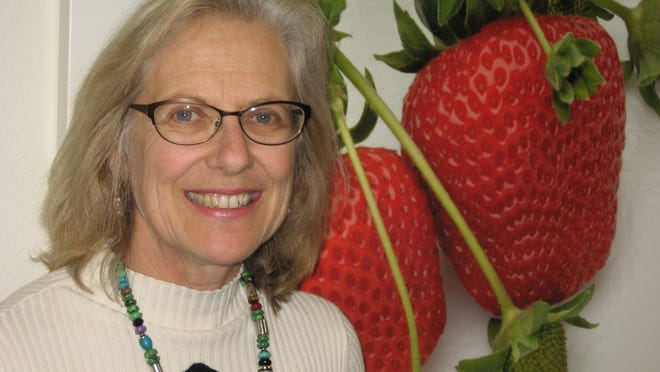 Carolyn O?Donnell communiucations director of the California Strawberry Commission