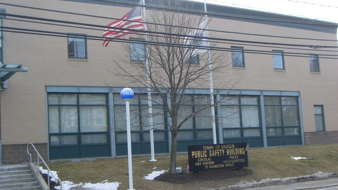 The Saugus Public Safety Building.  File photo