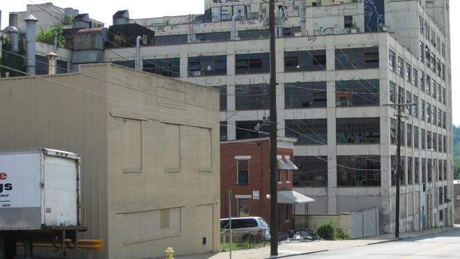 This vacant Arlington Street building was the site of Crosley Radio Corp. and radio station WLW.