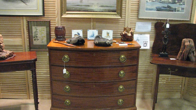 Genesee Country Antique Dealers Association show is at Nazareth College.