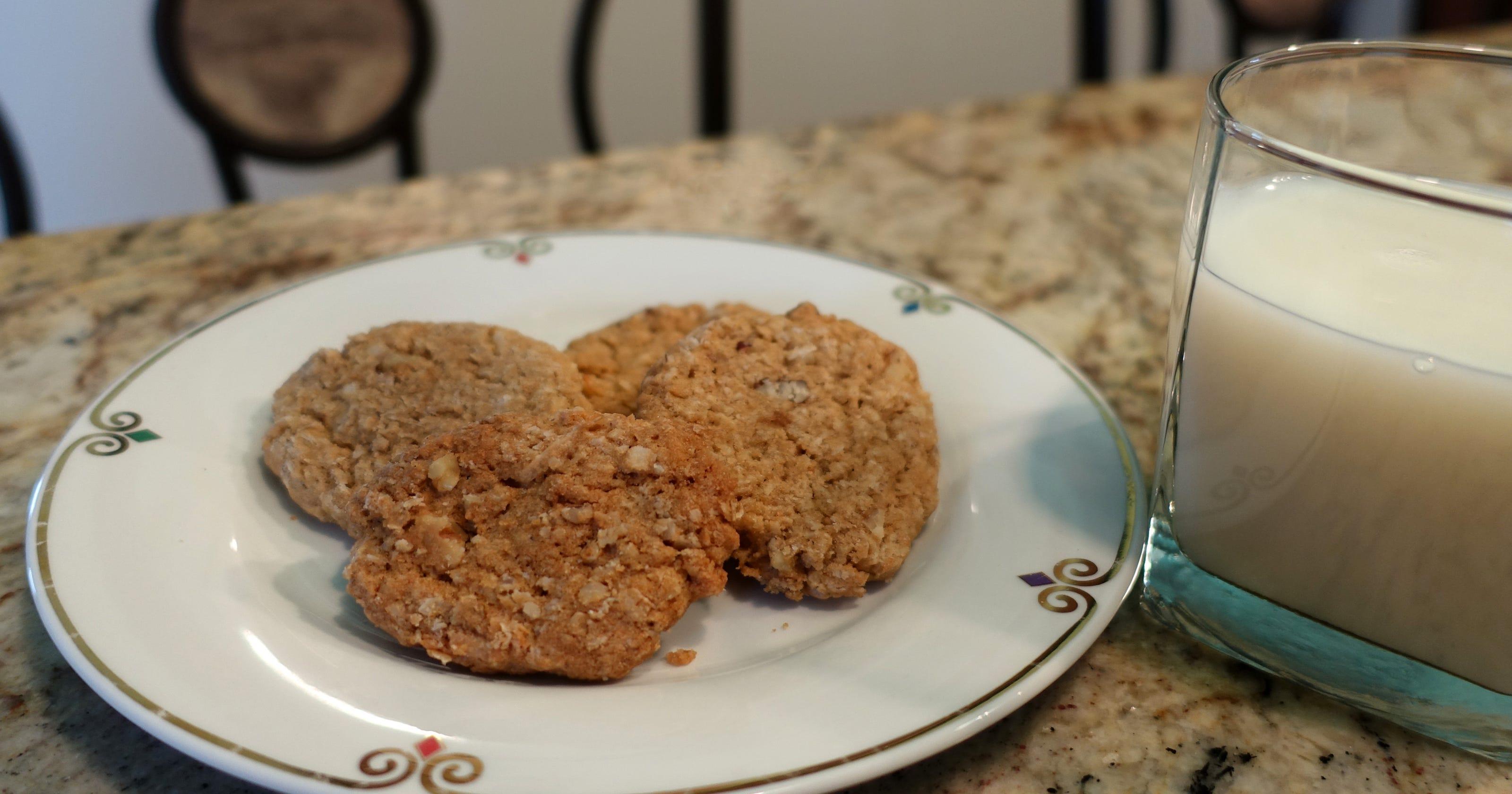 Gay S Oatmeal Icebox Cookies