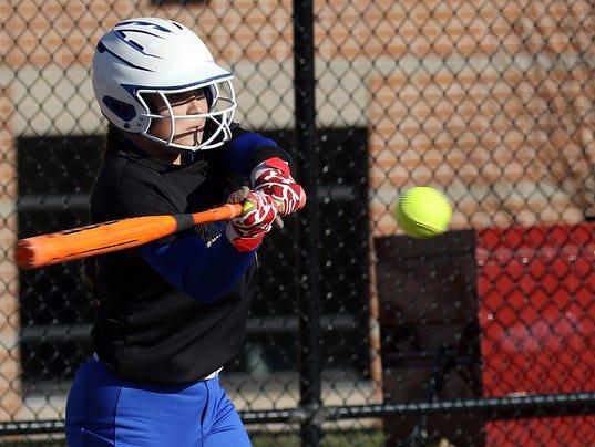 Girls Softball: Germantown at Arrowhead