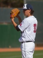 Former Desert Hills star and Dixie State pitcher Dylan