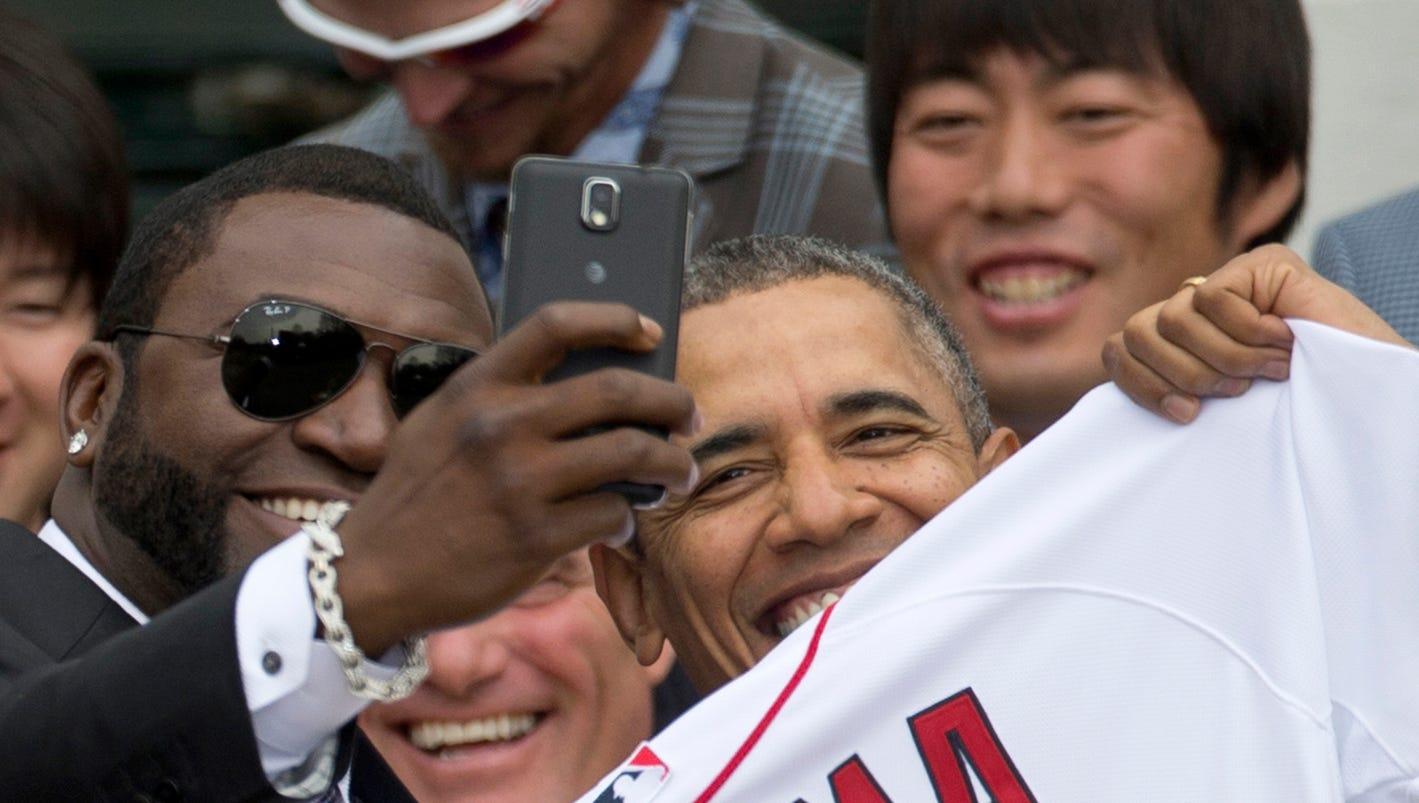 White House balks at Samsung/Ortiz selfie