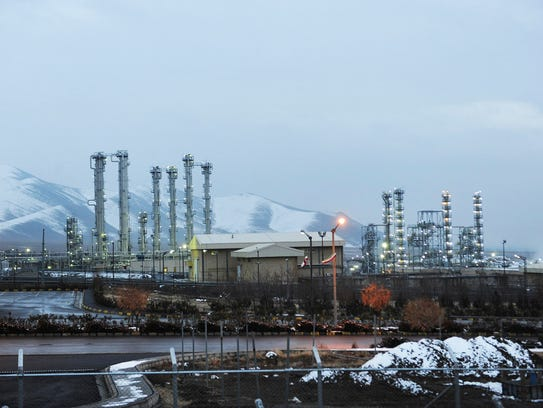 Iran's heavy water nuclear at Arak