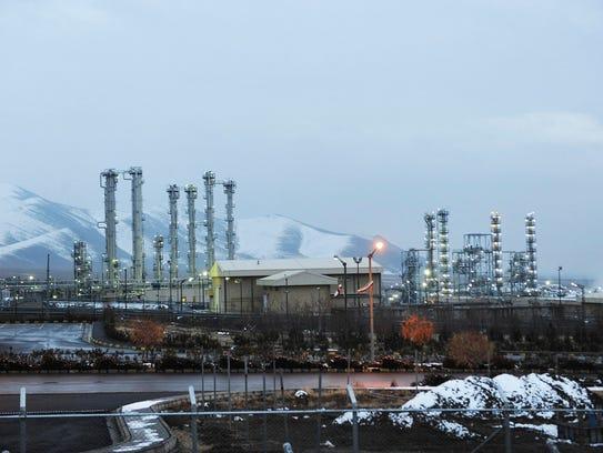 Iran's heavy water nuclear at Arak