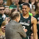 Michigan State notes: Miles Bridges scores 20 with more diverse attack