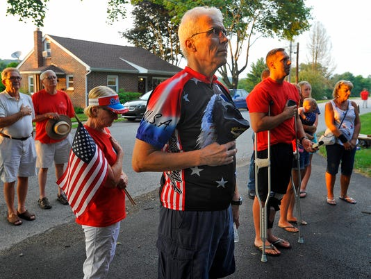 Taps play in Glen Rock
