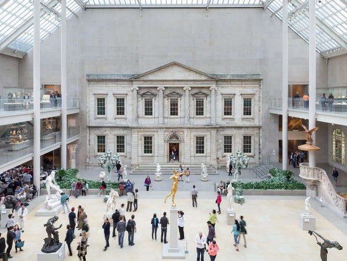 No. 1: The Metropolitan Museum of Art, New York.