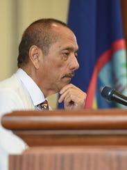Speaker Benjamin J. Cruz.