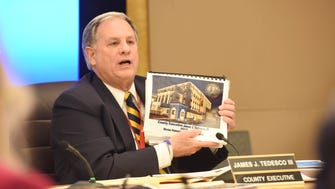 Bergen County executive James J. Tedesco III will present the third budget of his four-year term to the Bergen freeholder board.