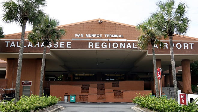 A nearly naked man tried May 5, 2015, to go through Tallahassee Regional Airport at 4 a.m., claiming he had a plane to catch.