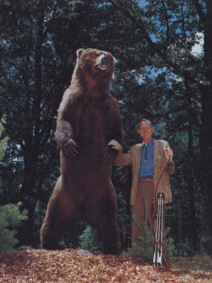 Fred Bear, founder of Bear Archery, was instrumental in starting Michigan's first bow season in 1937.